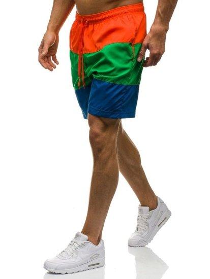 Bolf Herren Badehose Multifarben 7878E