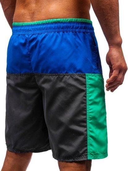 Bolf Herren Kurze Hose Badehose Mehrfarbig  339A