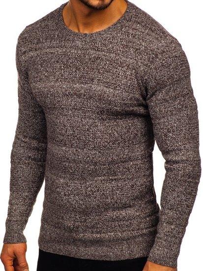 Bolf Herren Pullover Braun  H1926
