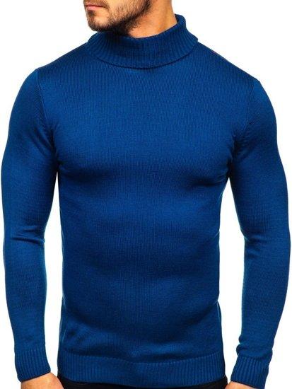 Bolf Herren Pullover golf Blau  4519