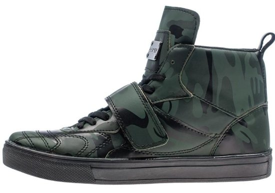 Bolf Herren Schuhe Grün 8003