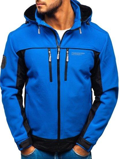 Bolf Herren Softshell Jacke Blau  5527