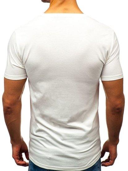 Bolf Herren T-Shirt Weiss 7483