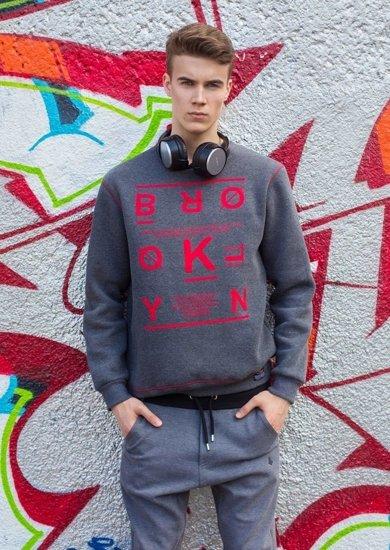 Styling Nr.1 - Sweatshirt mit Print, Jogger