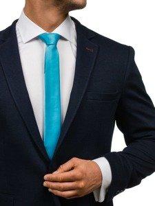 Bolf Herren Krawatte Türkis K001