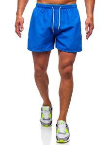Bolf Herren Shorts Badehose Blau  303
