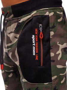 Bolf Herren Sporthose Camouflage Khaki  TC876