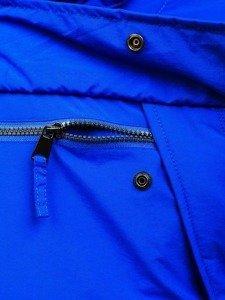 Bolf Herren Winterjacke Sport Jacke Blau  JS166